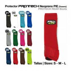 Protector de Neopreno Protech Pie Rojo
