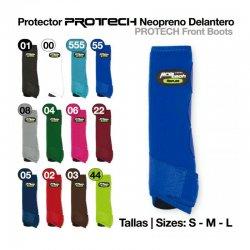 Protector de Neopreno Protech Delantero Azul Royal