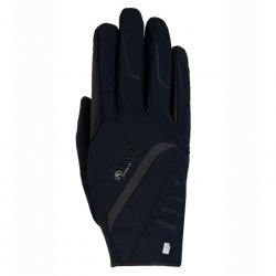 Guante Roeckl Willow Invierno Negro Hispano Hipica
