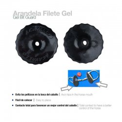 Arandela para Filete Gel Bit Guard Acavallo El Albero