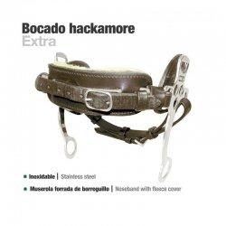 Bocado Hackamore Cuero Inoxidable 251391-K