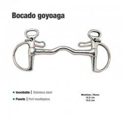 Bocado Goyoaga con Puente Inoxidable 21102 zaldi