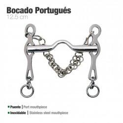 Bocado Portugues Inox Rocio 12,5cm zaldi