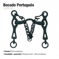 Bocado Portugués Inoxidable Pavonado 21798 12,5cm zaldi