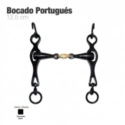 Bocado Portugués Embocadura 3 Piezas 12.5 cm zaldi