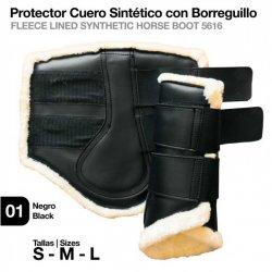 Protector Cuero Sintetico con Borreguillo Zaldi El Albero
