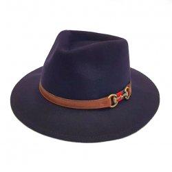 Sombrero Indiana Impermeable Azul