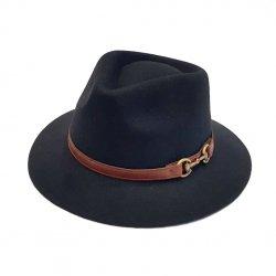 Sombrero Indiana Impermeable Negro
