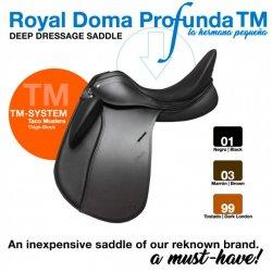 Silla Doma Royal Profunda con Taco Muslera
