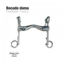 Bocado Doma Inox Hueco 21952 zaldi