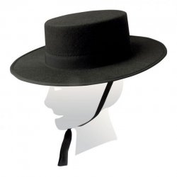 Sombrero Cordobés Negro Mod 111
