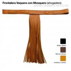 Frontalera Vaquera con Mosquero para Ahogadero Zaldi