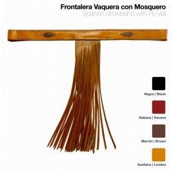 Frontalera Vaquera con Mosquero Castecus sin Ahogadero