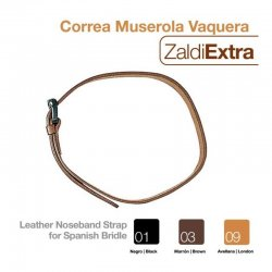 Correa Muserola Vaquera Zaldi Extra