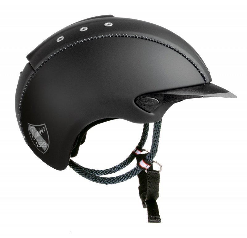Casco Cas Co Mistrall New  Negro Mate Decor