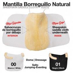 Mantilla Doma con Borreguillo Natural Zaldi