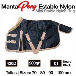 Manta Pony Establo Nylon 420D 200gr Zaldi