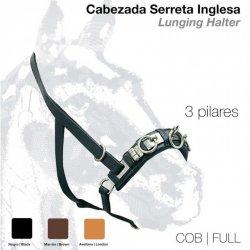 Cabezada Dar Cuerda con Serreta 3 Pilares 101
