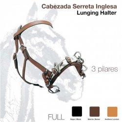 Cabezada Dar Cuerda con Serreta Forrada 627