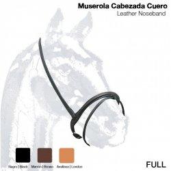 Muserola Cabezada Cuero 108 Full