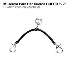 Muserola para Dar Cuerda Cuero 2727 Zaldi