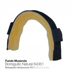 Funda para Muserola Borreguillo Natural 64351 Zaldi