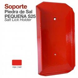 Soporte Piedra de Sal Pequeña Stubbs S25 Rojo Zaldi