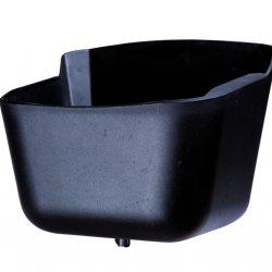 Comedero de Plástico Esquina o Pared  Negro Hispano Hípica ref_04839c