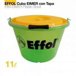 Comedero Cubo Effol Eimer con Tapa 17 Litros Zaldi