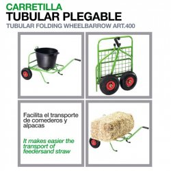 Carretilla Tubular Plegable Zaldi