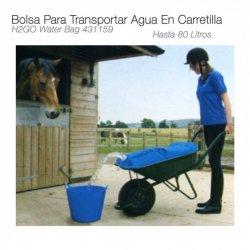 Bolsa para Transportar Agua 80L en Carretilla Zaldi