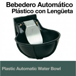 Bebedero Automático Plástico con Lengüeta Zaldi