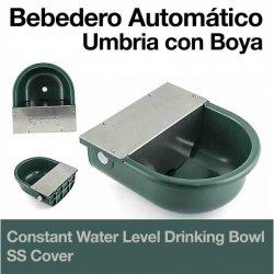 Bebedero Automático Umbría con Boya Cubierta Inoxidable Zaldi