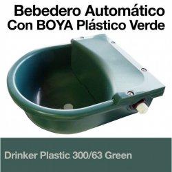 Bebedero Automático 300/63 con Boya Plástico Verde Zaldi