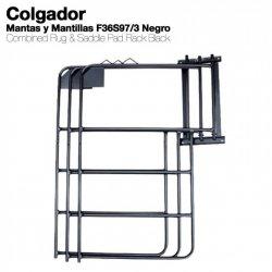 Colgador para Mantas y Mantillas F36S97/3 Negro Zaldi