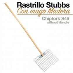 RASTRILLO HORCA CON MANGO MADERA STUBBS S46 ZALDI