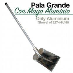 Pala con Mango Aluminio Grande 2274-H/NH Zaldi