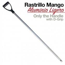 Rastrillo Mango Aluminio Ligero Zaldi o Hispano Hípica