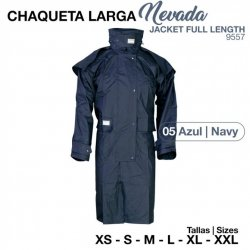 Chaqueta Larga Nevada 9557 Azul Zaldi