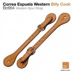 Correa Espuela Western Billy Cook Zaldi