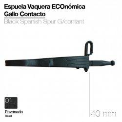 Espuela Vaquera Eco. Gallo Contacto Pavonado