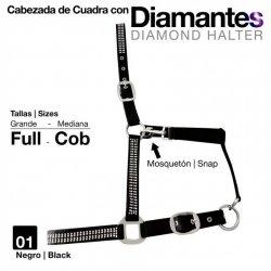 Cabezada Cuadra con Diamantes 5252 Zaldi