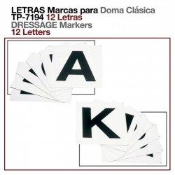 Letras para Doma Clásica (12 Letras)