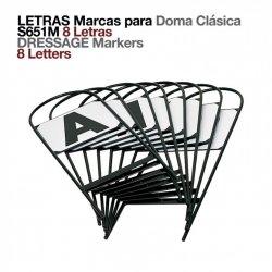 Letras-Marcas para Doma Clásica (8 Letras)