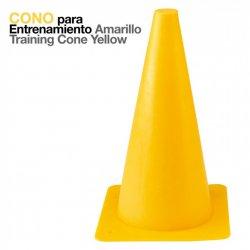 Cono para Entrenamiento Amarillo Zaldi