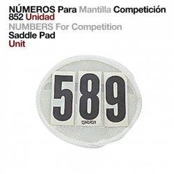 Números para Mantilla Competicón 852 Únidad