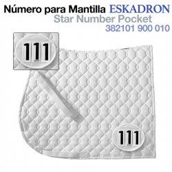 Número para Mantilla Eskadron 382101 900 010 Zaldi
