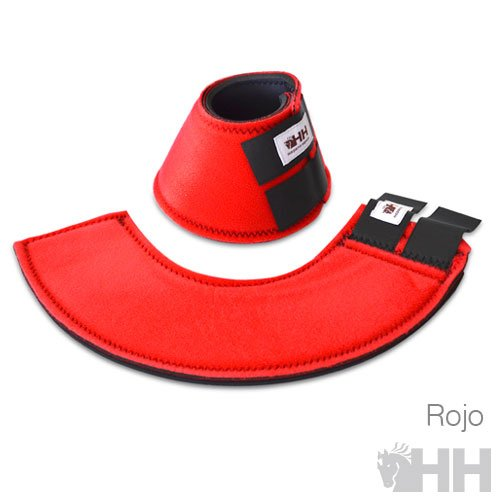 Campana Country neopreno rojo