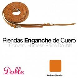 Enganche Riendas Doble 0764 Sueltas Avellana Zaldi