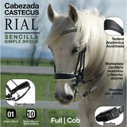 Cabezada Castecus Rial Sencilla Ref: 2101908